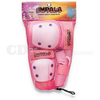 Impala Protective Set Junior Pink