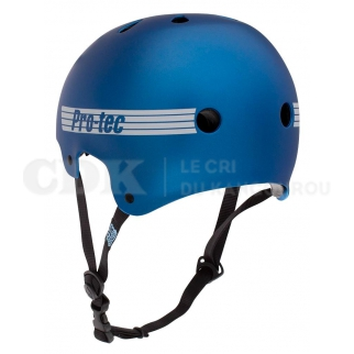 Pro-Tec Helmet Old School Certified Metallic Blue