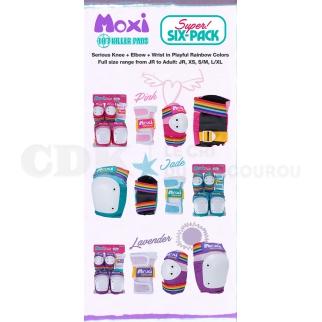 187 Killer Pads Moxi Six Pack Combo