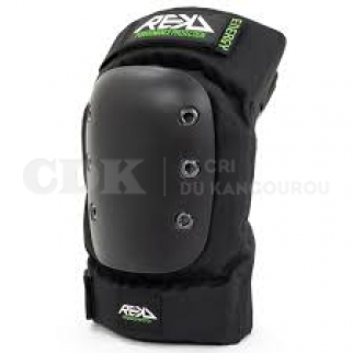 REKD Energy PRO Ramp Knee Pad Black