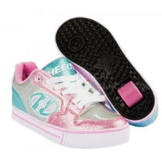 Heelys Motion Plus Silv/pink/blue