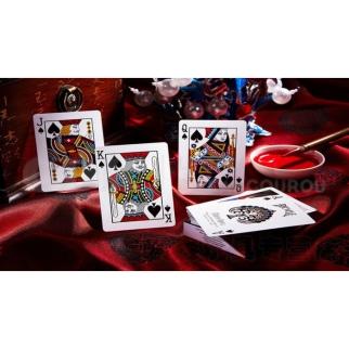 Chinese Opera carte poker magie  bicycle