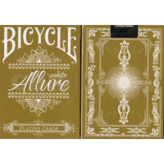 Allure carte poker magie  bicycle