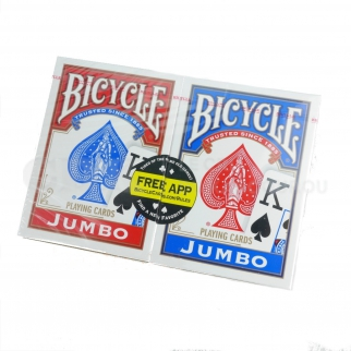 Jeu Faces Blanches carte poker magie  bicycle