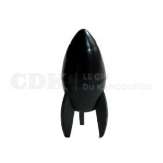 Bouchon de valve Presta Fusée Noire Bouchon de valve presto fusée noire cdk