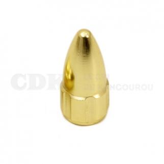 Bouchon de valve Presta Balle Or Bouchon de valve presta balle dorée CDK