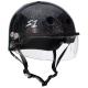 S1 Lifer Visor Helmet Black Gloss Glitter