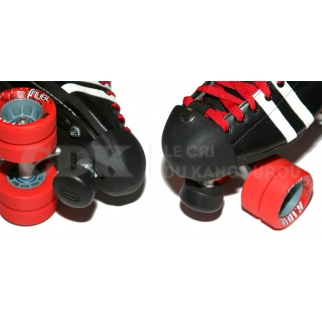 Toe Guards Pair Riedell Leather BLACK