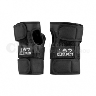 187 Wrist Pads Guard Black
