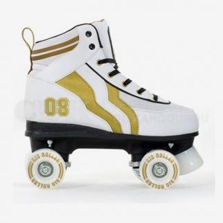 Rio Roller Varsity White/Gold
