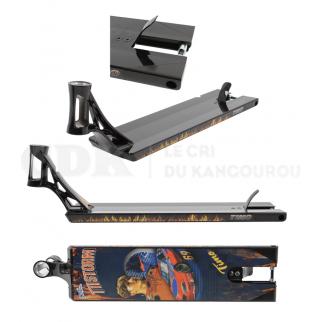 AO Scooter Timo Pro V2 Deck Black 5.8 x 21.5