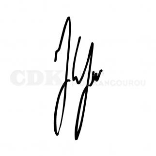 TShirt CDK Jules Lefevre Signature