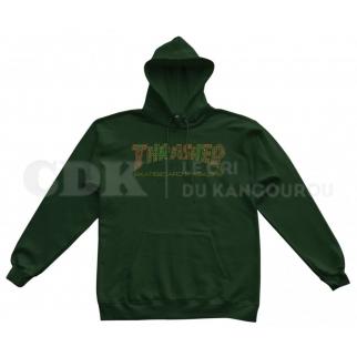 Thrasher Hoody Davis Forest Green