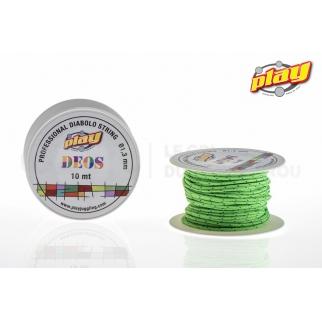 Ficelle Fluo Deos 10 m Ficelleplay deos diabolo cdk 10 m vert