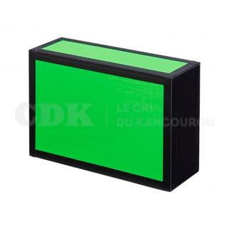 Boîte à Cigare Noir et Fluo