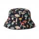 CAP ASHBURY BUCKET HAT BLACK
