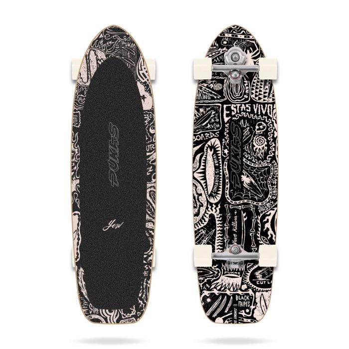 Dark 34.5 Pukas x Yow Surfskate