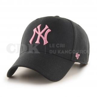 CAP MLB NEW YORK YANKEES MVP SNAPBACK BLACK ROSE