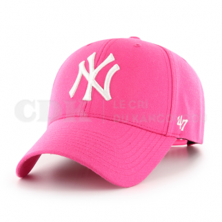 CAP MLB NEW YORK YANKEES MVP SNAPBACK MAGENTA