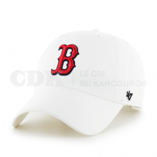 CAP MLB BOSTON RED SOX CLEAN UP WHITE