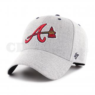 CAP MLB ATLANTA BRAVES STORM CLOUD MVP CHARCOAL
