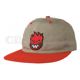 CAP BIGHEAD FILL KHAKI RED