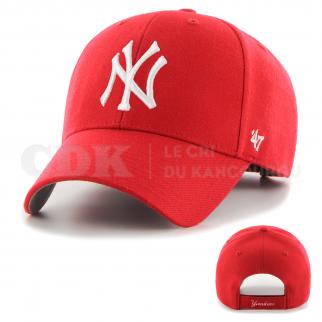 CAP MLB NEW YORK YANKEES MVP RED