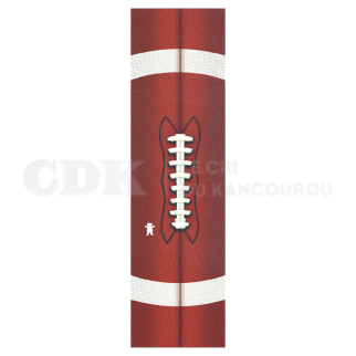 Grizzly Grip Plaque Endzone