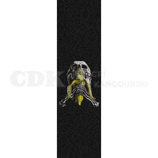 Grip Plaque Skull and Banana Black 9 x 33