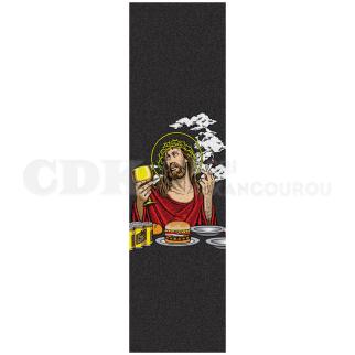 Blind Grip Plaque Smoking Jesus 9 x 33