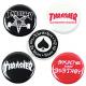 Thrasher Badge Logo Buttons (pack de 5)