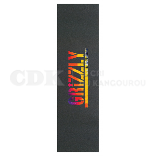 Grizzly Grip Plaque Stamp Acid Test Tie Dye
