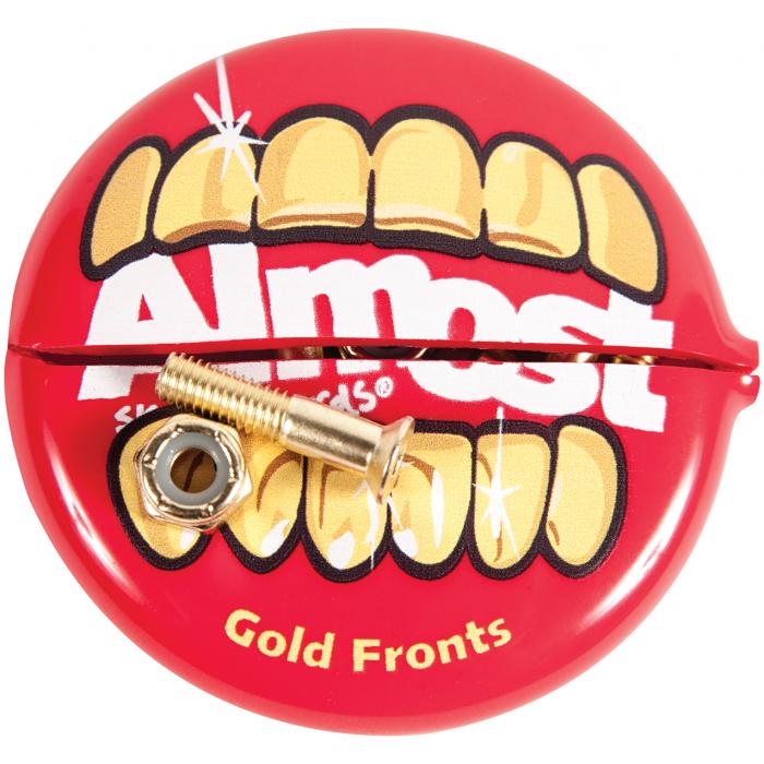 Visserie Allen 1pouce Gold Mouth + Coin Pouch