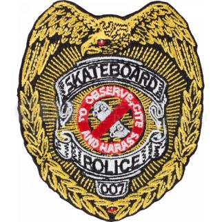 Patch Skateboard Police