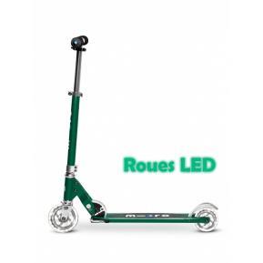 Micro Sprite Vert Sapin Roues LED
