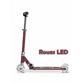 Micro Sprite Rouge Automne Roues LED