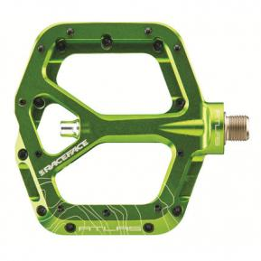 Pédales Atlas vert