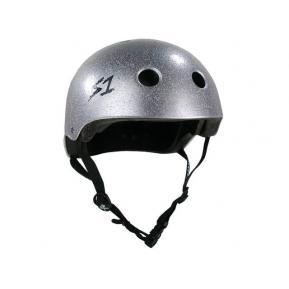 S1 Lifer Helmet Silver Glitter