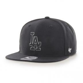 CAP MLB LOS ANGELES DODGERS NO SHOT CAPTAIN BLACK