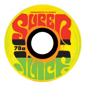 (JEU DE 4) 55MM JAMAICAN SUNRISE SUPER JUICE 78A