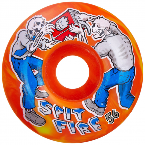 (JEU DE 4) 56MM 99D FIREFIGHT CLSC SWIRL