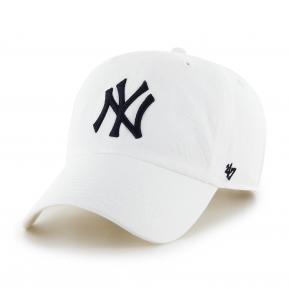 CAP MLB NEW YORK YANKEES CLEAN UP WHITE BLACK
