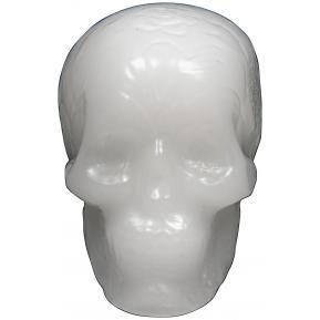 Wax Skull White