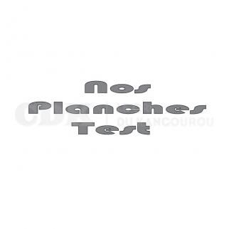 Nos planches TEST