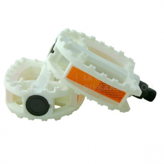 Pédales Qu-ax Plastique Blanc