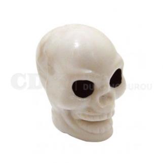 Bouchon de valve Crâne blanc