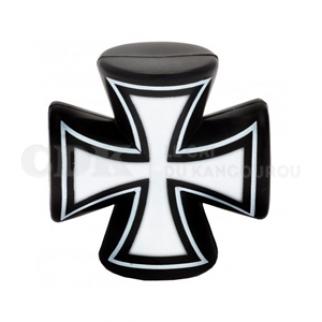 Bouchon de valve Grosse croix noire