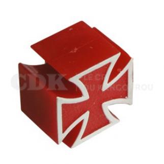 Bouchon de valve Croix rouge