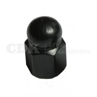 Bouchon de valve Ecrou noir
