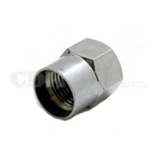 Bouchon de valve Ecrou chromé